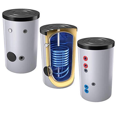 160 L Warmwasserspeicher mit 1 Wärmetauscher inkl. Isolierung