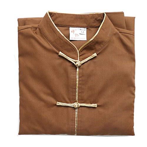 JTIH® monnik boeddhisme kleding monnch kleding meditatie pakken knop FA-vergadering boeddha gereedschapsbouw set: broek bovenstuks) (1,M)