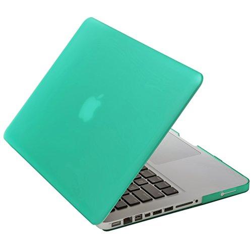 Aduro MacBook Pro 13Softtouch mit Passendem Silikon Tastatur Cover Blau Türkis