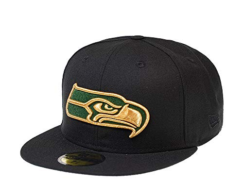 A NEW ERA Era Seattle Seahawks Green and Gold Edition...