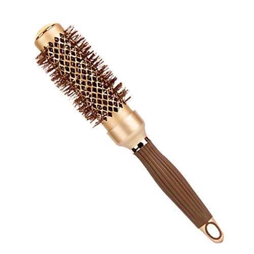 hongxinq hongxing Ceramic Anion Hair Brush Anti-static High Temperature Resistant Comb Hair Styling Tool 32