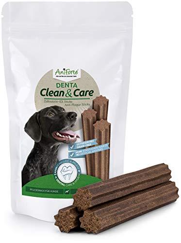 AniForte Zahnstein-EX Sticks 220g - Gegen Maulgeruch, Entfernt Plaque & beugt vor, Getreidefrei, Naturprodukt für weiße Zähne, Ohne künstliche Zusätze, Hundeleckerli für mittel bis große Hunde