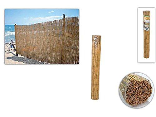 Vetrineinrete® Arella In Bamboo 1X3 Metri Frangivista Tenda Ombreggiante Stuoia Per Giardino Terrazzo Balcone 100X300 Cm