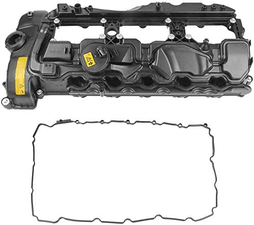 MOSTPLUS 11127570292 Engine Valve Cover Compatible with BMW 2011-2014 X3 X5 X6 335i 535i 2013-2014 740i 2012-2014 640...