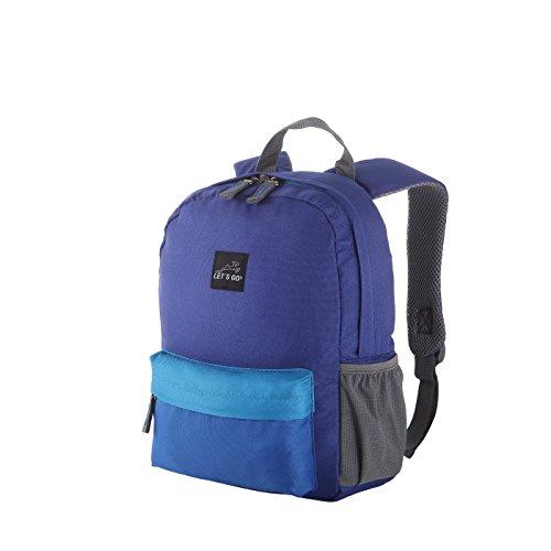 Let's Go Jugend/Kinderrucksack KRS/4 12l für Mädchen und Jungen, Retro Style, robuster Daypack