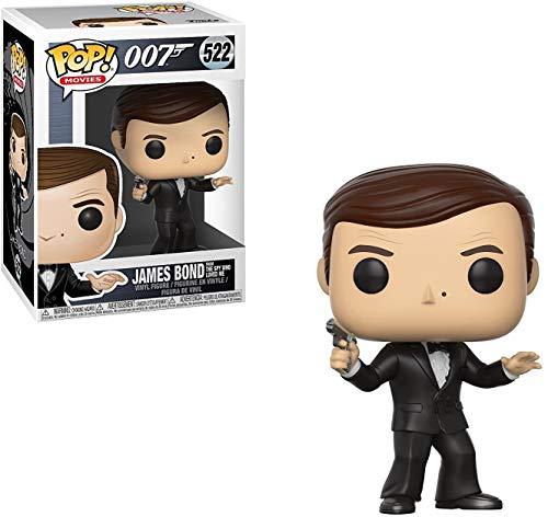 Funko Pop!- James Bond Roger Moore Figura de Vinilo (24701)