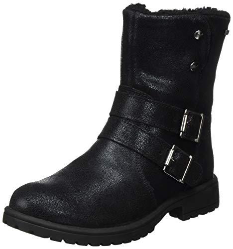 Superfit GOR-Tex dziewczęce buty zimowe z ciepłą wyściółką, czarny - Schwarz 0000-35 EU