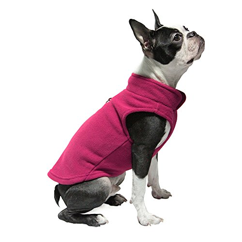 Gooby - Fleece Vest, Small Dog Pullover Fleece...