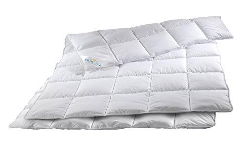 PROCAVE Micro-Comfort 4 Jahreszeiten 155x200 cm Ganzjahresdecke   Mircofaser   Steppdecke   Bettdecke   Einziehdecke   Mono Decke   Steppbett   Soft Touch