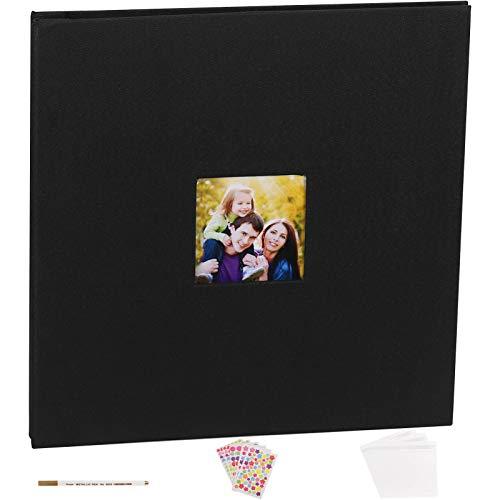 álbum de fotos hojas negras fabricante VACNITE