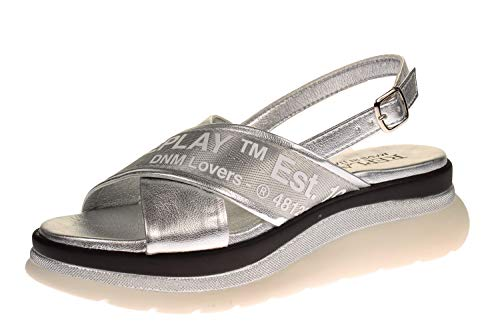 Replay RP4V-0002S - Damen Schuhe Freizeitschuhe - 050-silver, Größe:37 EU