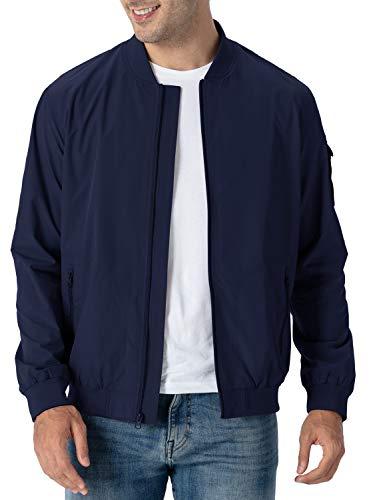 Rdruko Men's Running Jacket Casual …