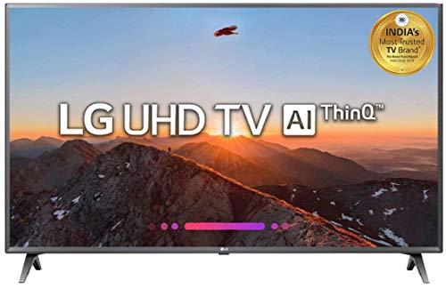 LG 126 cm (50 Inches) 4K UHD LED Smart TV 50UK6560PTC (titan)...
