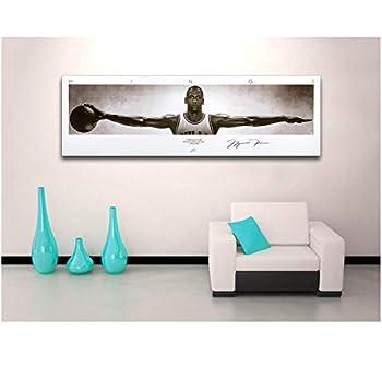 xtszlfj Michael Jordan Wings Wall Art Painting Basketball Poster Canvas Print for Home Room Decor 50x150cm  no Frame