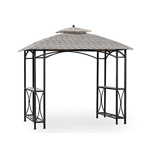 Garden Winds Replacement Canopy for The Sheridan Grill Gazebo - Standard 350 - Damask Beige