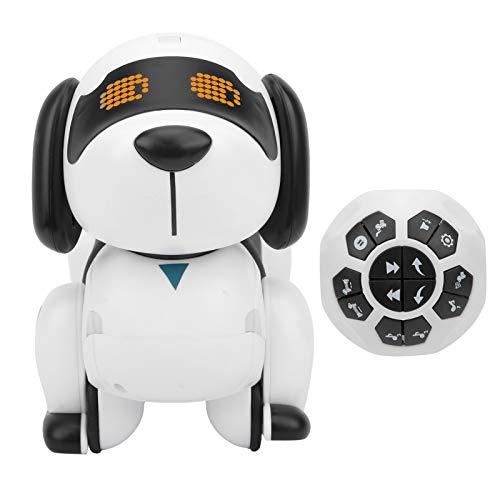 BOLORAMO Perro RobóTico A Control Remoto, RC, Baile Inteligente para Caminar, Programable, Juguete para Cachorros, Perros Robot para NiñAs, NiñOs, Regalo, Edades 2,3,4,5,6,7,8,9,10 AñOs