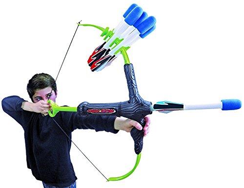 Marky Sparky Bow & Arrow - Shoots Over 100 Feet - Foam Bow & Arrow Archery Set (Lizardite)