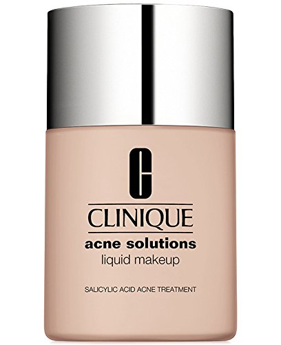 Acne treatment products New! Clinique Acne Solutions Liquid Makeup, 1 oz / 30 ml, 01 Fresh Alabaster (VF-N)