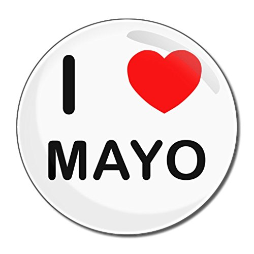 I Love Mayo - Miroir compact rond de 55 mm