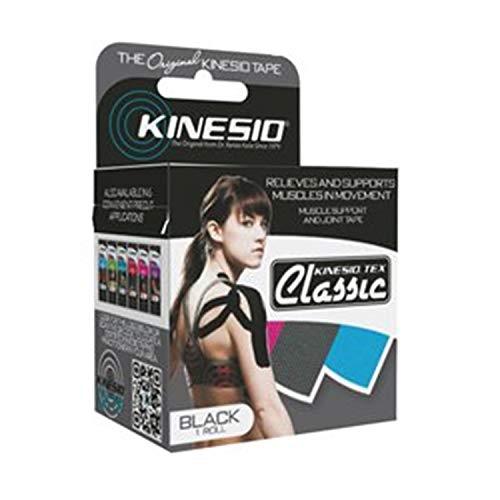 Kinesio Kinesio Tape, Tex Classic, 2' X 4.4 Yds, Black, 1 Roll