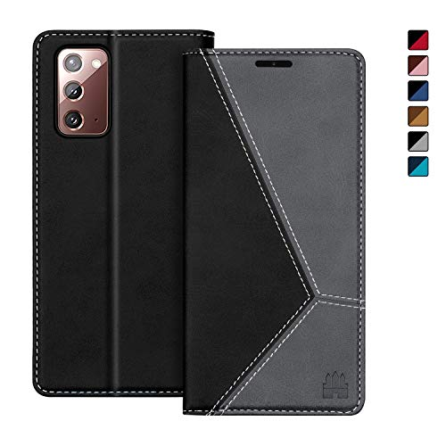 Caislean Wallet Case for Samsung Galaxy Note 20 5G, PU Leather Folio Flip Cover, [RFID Blocking] Card Holder Slots Kickstand Cash Pocket Book Folding Case Slim Fit for Galaxy Note 20 5G 6.7