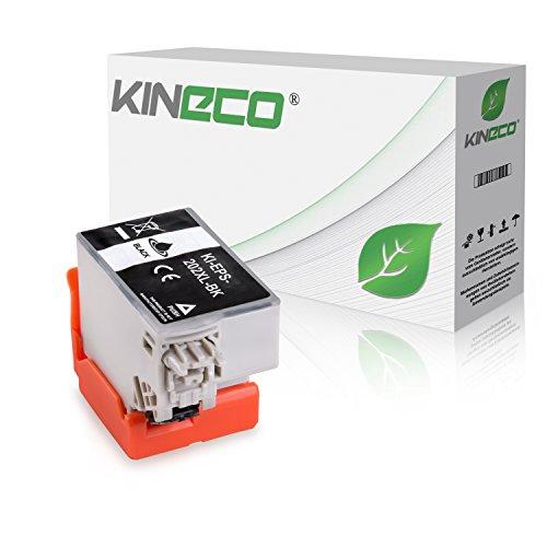 Kineco Tintenpatrone kompatibel für Epson Expression Premium XP-6000 Epson Expression Premium XP-6005 202XL C13T02G14010 Schwarz