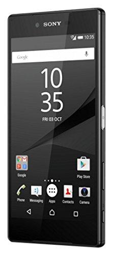 Sony Xperia Z5 Premium Single Sim E6853 Telefono cellulare, NOBA personalizzato, Nero