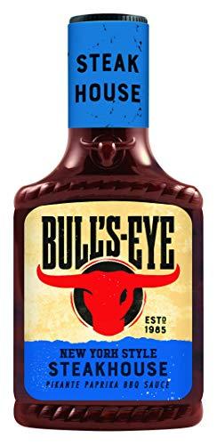 Bull's Eye Steakhouse BBQ Sauce, Squeezeflasche, 6er Pack (6 x 300 ml)