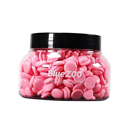 150g Chaude Perles de Cire à épiler Sans Bande Pour Bikini Zone Aiselles Jambe - Rose