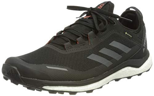 adidas Terrex Agravic Flow, Track And Field Shoe Uomo, CBLACK/GRESIX/SORANG, 40.5 EU