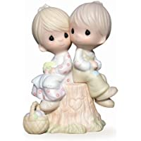 Precious Moments E1376 Love One Another, Bisque Porcelain Figurine