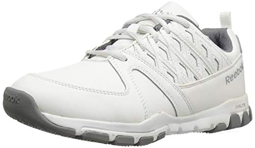 Reebok Work Women's Sublite Work RB424_1 Industrial and Construction Shoe, White, 6 M US