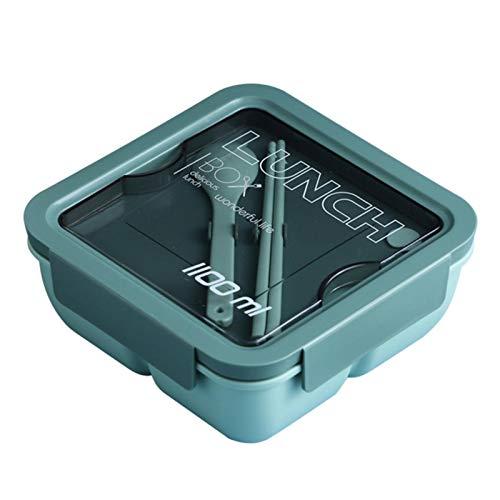 yahede Betrouwbare maaltijdvak met deksel, BPA-vrije bento lunchboxen, magnetronbestendig, tweekleurig optioneel Unusual