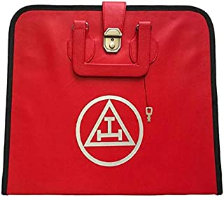 Bricks Masons Masonic Royal Arch MM/WM and Provincial Full Dress Apron Cases-MM/WM Case