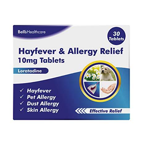 Bells Healthcare 10 mg Loratadine Hayfever & Allergy Relief 30 Tablets, 5017848252411
