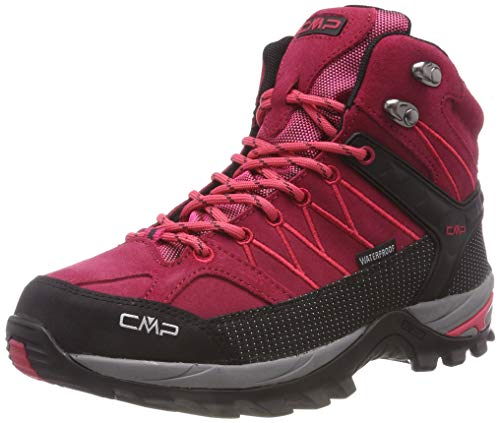 CMP Damen Rigel Mid Wmn Shoe Wp Trekking- & Wanderstiefel, Rot (Granita-Corallo 72bm), 37 EU