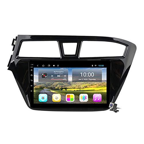 Buladala Android 8.1 Quad Core Navigatore GPS Autoradio Stereo per Hyundai I20 2015-2018, con 9'' LCD/Multi Media Player, Supporto WLAN USB AV-out/Chiamate Bluetooth,Plug 1,4G+WiFi: 1+16GB