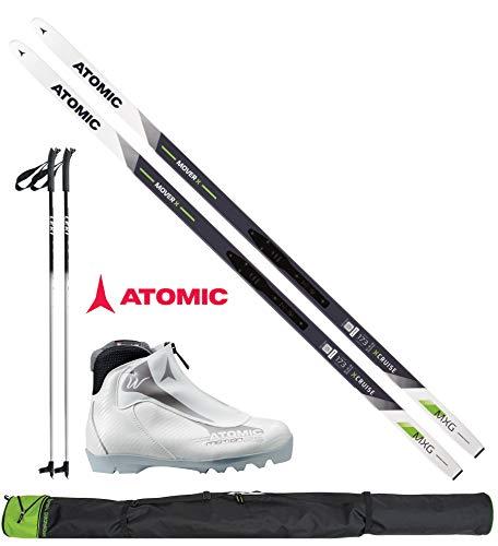 ATOMIC Langlaufski-Set Mover X in 173cm + Bindung + Schuhe Women + Stöcke + Skisack 17/18
