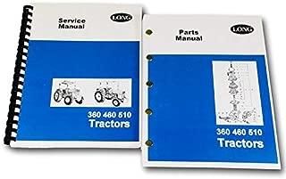 Long 360 460 510 Tractor Service Repair Shop Manual Parts Catalog Technical Book