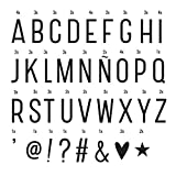 A Little Lovely Company 0520–016–Buchstaben und Symbole