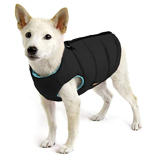 Gooby - Padded Vest, Dog Jacket Coat Sweater with...