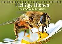 Fleissige Bienen. Von der Bluete bis zum Honig (Tischkalender 2022 DIN A5 quer): Emsige Arbeiterinnen und Produzentinnnen von wertvollem Honig (Geburtstagskalender, 14 Seiten )