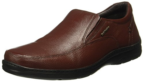 Hush Puppies Men's Taylor Slip On Dark Brown Leather Formal Shoes-8 (8544866080_8544866)