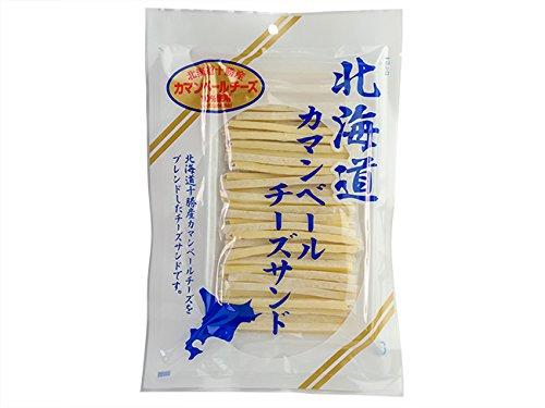 北海道カマンベールチーズサンド 110g(チーズ好きにはたまらない!おつまみの定番チータラ)(北海道十勝産カマンベールチーズ使用のチーズ鱈)