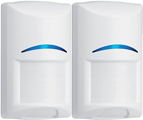 Bosch ISC-BPR2-W12 Blue Line Gen2 PIR Motion Detector (Pack of 2), Wall to Wall Coverage, Dynamic...