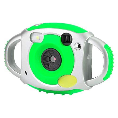 Cámara de Video para niños Cámara de Video de Juguete Cámara de Selfie para niños con Pantalla LCD HD de 1.8 Pulgadas, para niños(Silver Green)
