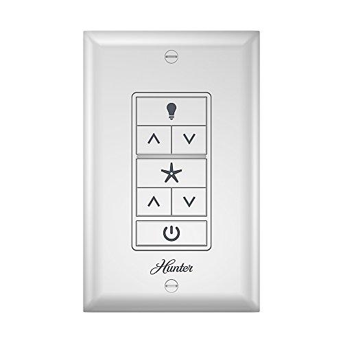 Hunter Fan Company 99375 Hunter Indoor Ceiling Fan Universal Wall Control, White