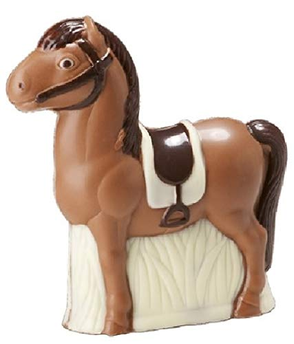 04#092621 Schokolade, Pony, Tiere, Pferd, aus Vollmilch Schokolade, 60 gr