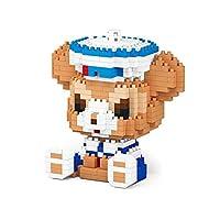 マイクロブロック漫画のキャラクターStellalouシリーズの建物の建物セットダイヤモンドの粒子ナノ漫画のブロックミニブリック3DパズルDIYおもちゃのおもちゃ大人、B (Color : D)