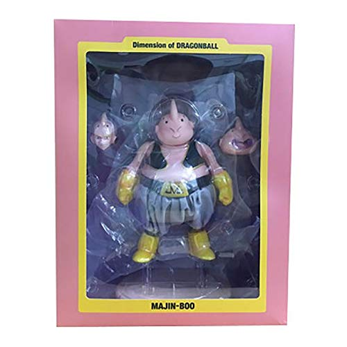 HANEUL LLC KR 22cm Dragon Ball Z Majin Buu Anime Action Figure Model PVC Huge Buu Statue Collection Toy Decoration Kid Gifts Color Majin Buu with Box image